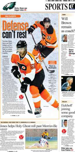 Flyers defense 041416